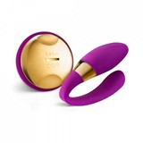 tiani 24k massager with wireless remote control deep rose