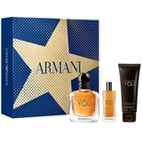 gift set armani code absolu 60ml + after shave balm 75ml + shower gel 75ml