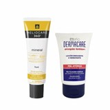 360º mineral tolerance fluid spf50 50ml + dermacare lotion 100ml