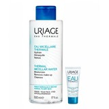 Uriage Thermal micellar water make-up remover for normal skin 500ml+water cream 15ml