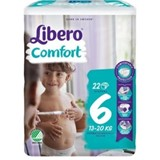 diapers comfort  13-20kg, 22 units