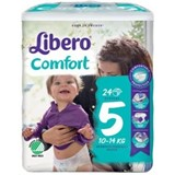 diapers comfort 10-14kg, 24 units