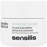 supreme renewal detox tratamento contorno de olhos 15ml