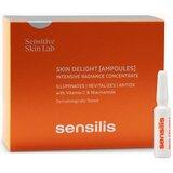 skin delight ampolas iluminadoras & antioxidantes 15x1,5ml