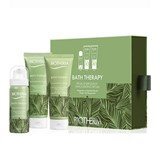 coffret bath therapy invigorating blend mousse 50ml + esfoliante 75ml+creme 75ml