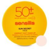 sun secret compacto de rosto maquilhagem anti-idade 01-natural 10g