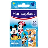 junior mickey plasters 2 sizes 20units