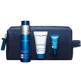 coffret clarins men gel revitalizante 50ml+shampoo 30ml+sérum olhos 3ml