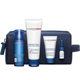 coffret bálsamo hidratante 50ml+gel lavante 125ml+shampoo 30ml+óleo barbear 3ml