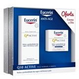 coffret q10 active cr noite 50ml + q10 cr dia pele normal a mista 50ml