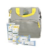maternity bag yellow