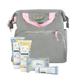 maternity bag pink