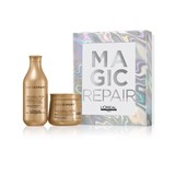 coffret serie expert absolut repair shampoo 300ml + máscara 250ml