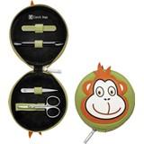 classic inox kids estojo 4 peças macaco