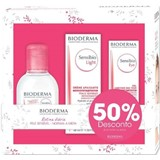 Bioderma Sensibio light soothing cream 40ml + micellar water 100ml + eye contour 15ml