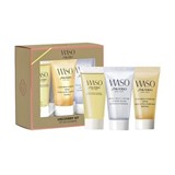 coffret waso creme 30ml+quick gentle cleanser 30ml+jelly lotion 30ml