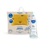 gel lavante suave para o banho do bebé 750ml oferta mochila