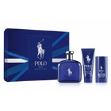 coffret polo blue eau de toilette 125ml + gel de duche 100ml + desodorizante 75g