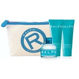 gift set ralph eau de toilette 100ml + body lotion 100ml + shower gel 100ml