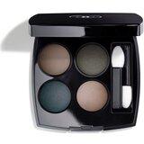 Chanel Les 4 ombres palette de sombras 324 blurry blue 2g