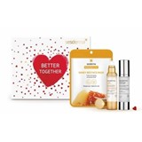 Sesderma Coffret c-vit serum 30ml +  acglicolic forte 50ml+ honey bee mask 22ml