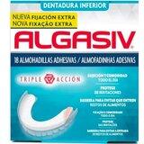 almofadinhas para dentadura inferior 18 unidades