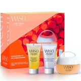 coffret waso creme 50ml+ gel limpeza 30ml + loção 30ml