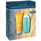 coffret leite solar hidratante spf50 200ml + after-sun leite 200ml