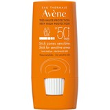 very hight protection stick sensitive areas spf50+ 8 g