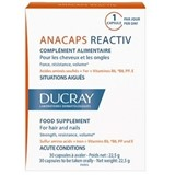 anacaps reactiv food suplement for reactional hair loss 30 capsules