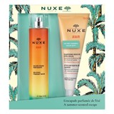 sun delicious fragrant water 100ml + after-sun hair&body shampoo 200ml