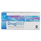 drugtest teste rápido de detecção de 6 drogas 1 unidade