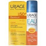 bariésun creme protetor solar com perfume spf50 50ml + água termal 50ml