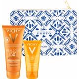 Vichy Ideal soleil leite solar de corpo spf50 100ml + emulsão spf50 50ml porto