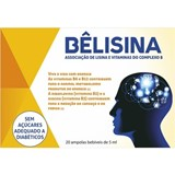 bêlisina multivitamin food supplement 5mlx20 ampoules