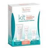 Avene Kit cleanance hydra 40ml+cicalfate lábios 10ml+cleanance hydra cr limpeza 15ml