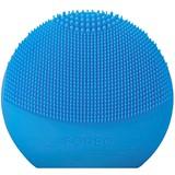 luna play plus facial cleansing brush aquamarine