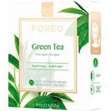 Foreo Ufo activated masks farm to face collection green tea 6x6g