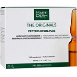 proteos ampolas hidratantes e reafirmantes pele seca 30ampolas