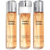 chance eau de toilette recargas twist&spray 3x20ml