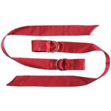 boa laços de seda vermelho