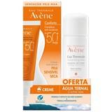 creme solar pele sensível spf50+ 50ml + água termal 50ml