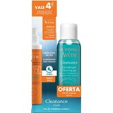 cleanance solar pele sensível e oleosa spf50 50ml + cleanance gel 100ml