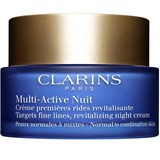 Clarins Multi-active night youth recovery cream for normal to combination skins 50ml