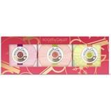 soaps trio | fleur d'osmanthus 100g+fleur de figuier 100g+gingembre 100g