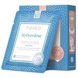 ufo h2overdose máscara facial ultra-hidratante para pele seca 6x6g