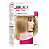 tricovel nutri permanent hair color 40+60+2x12ml | 8 - light blonde