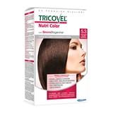 tricovel nutri permanent hair color 40+60+2x12ml   5.3 - golden light brown
