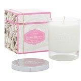 white jasmine fragranced candle 210g
