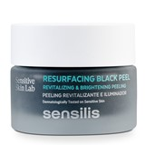 Sensilis Skin delight revitalizing and illuminating black exfoliator 75g